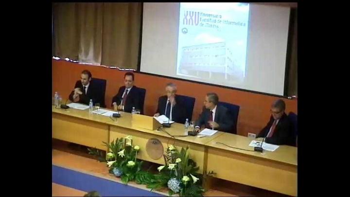 Conferencia Dr D. Mateo Valero Cortés