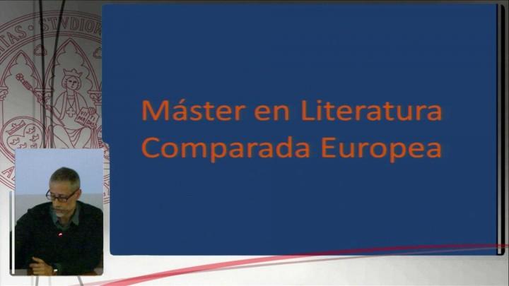 Máster Literatura Comparada jornadas de empleo 2014