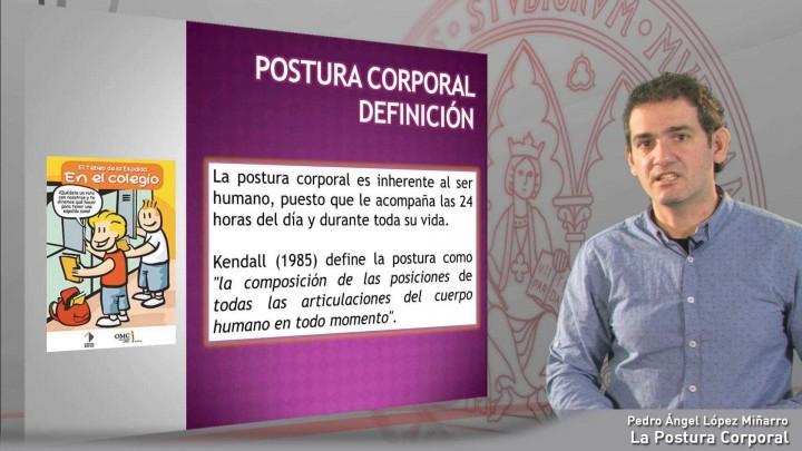 La Postura Corporal. Definición