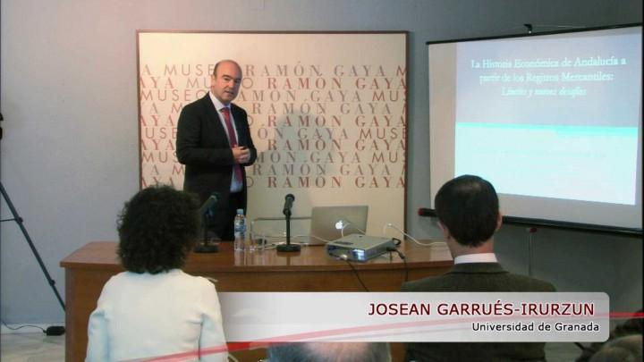 """04: Joseán Garrués: """"""""La historia económica de Andalucía a partir del registro mercantil"""""""