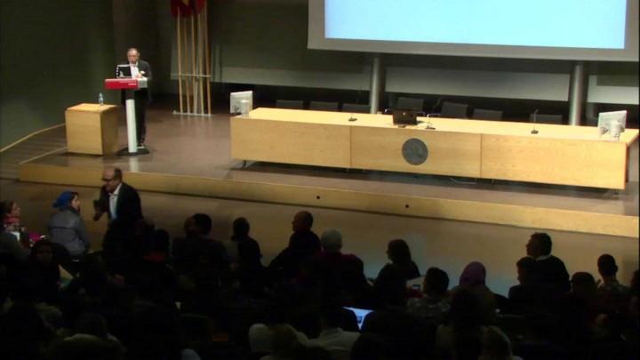 Turno de preguntas de la conferencia de Juan José Almagro