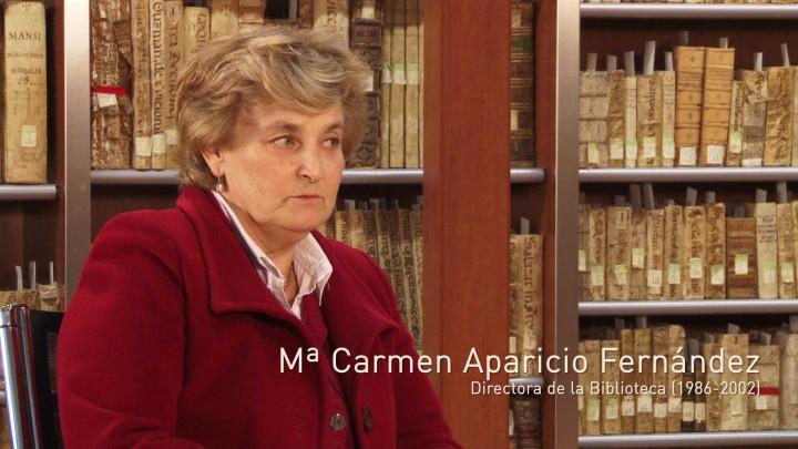 Entrevista Mª Carmen Aparicio