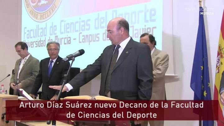 Arturo Díaz Suárez nuevo Decano de la Facultad Ciencias del Deporte