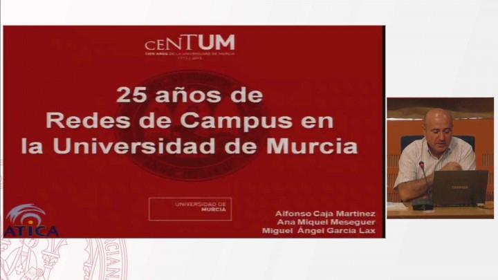 Los 25 años de Redes de Campus en la Universidad de Murcia