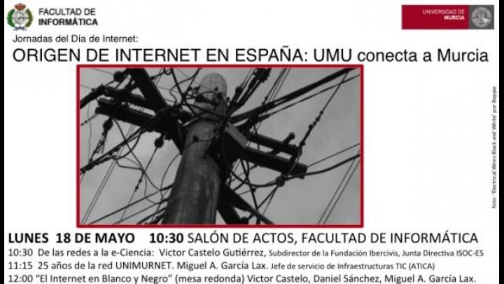 Apertura de las Jornadas Origen de Internet en España: La UMU conecta a Murcia