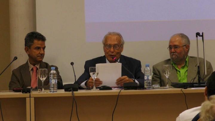 Mesa Redonda Encuentro con Nuestros Doctores Honoris Causa. Dr. D. Emeterio Cuadrado Díaz