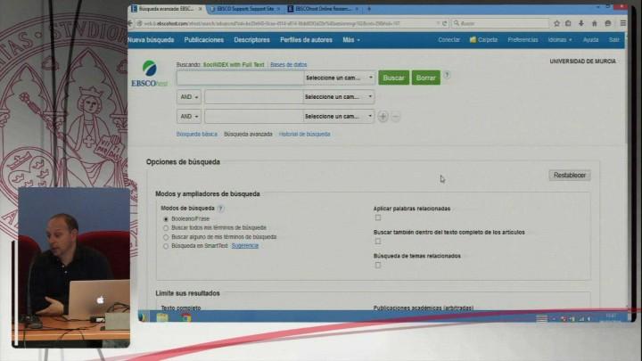 Presentación de las nuevas bases de datos de ciencias sociales de EBSCO