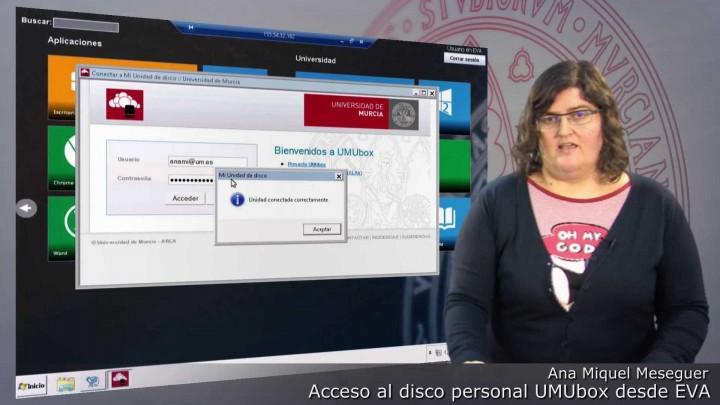 ¿Cómo conectar el disco personal UMUbox desde EVA?