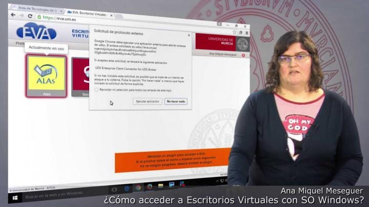 ¿Cómo acceder a Escritorios Virtuales con Sistema Operativo Windows?