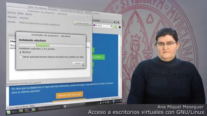 ¿Cómo acceder a Escritorios Virtuales con Sistema Operativo GNU/Linux?