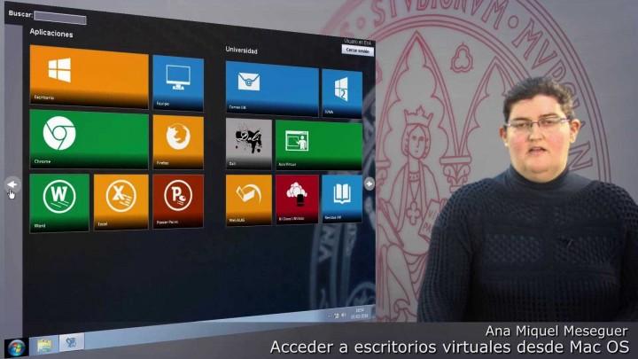 ¿Cómo acceder a Escritorios Virtuales con Sistema Operativo Mac OS X?