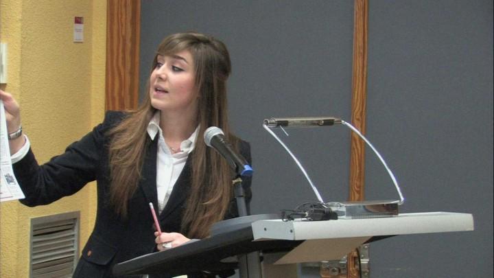 Final de la segunda liga de debate de la Universidad de Murcia