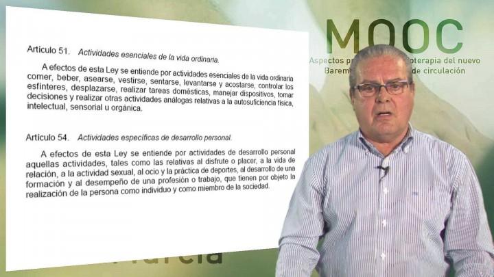 Módulo 6. Aspectos prácticos en Fisioterapia del Nuevo Baremo de accidentes de circulación.