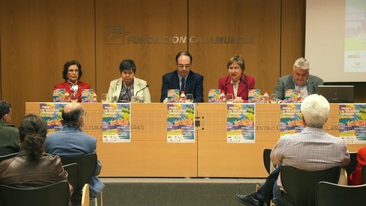 Presentación del XVII Edición del Premio Solidario Anónimo
