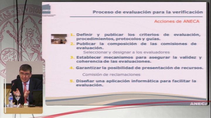 Sistemas de acreditación de ANECA: programas integrados