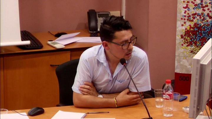 """Jeisson Martínez, Universidad de Murcia  """"Conflicto y refugio: el caso de Colombia"""""""