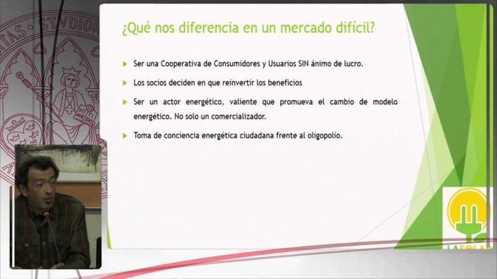 """Ponencia 3. """"La Solar Energía. Uniendo a consumidores..."""". D. Antonio Soler"""