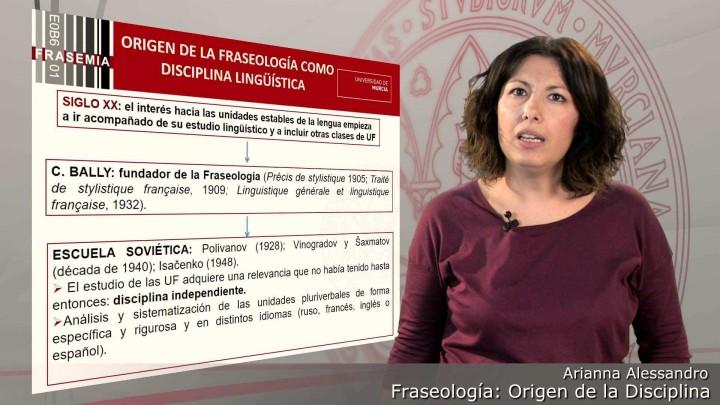 Fraseología: origen de la disciplina