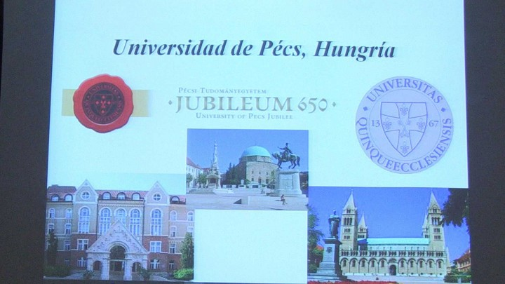 Convenio UMU-Universidad de Pecs Hungría