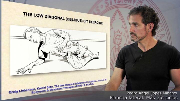 Plancha lateral. Más ejercicios