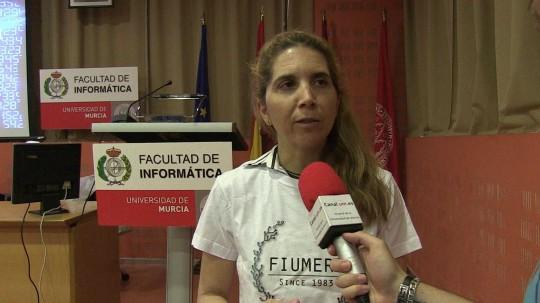Conferencia Nuria Oliver, facultad de Informática