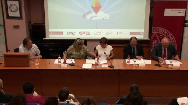 Acto de Clausura Programa Santander Yuzz 2017