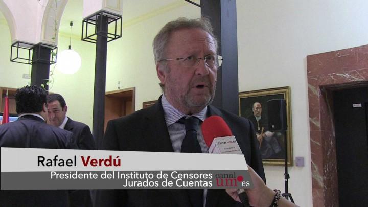Firma convenio Censores Jurados de Cuentas