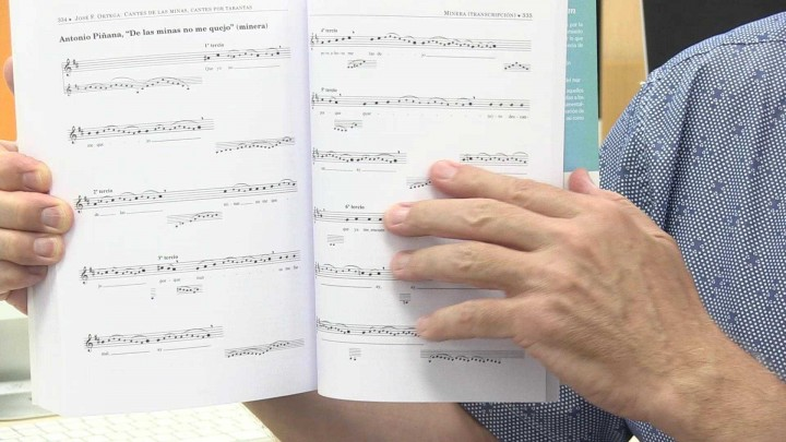 Libro Cante de las Minas, cante por tarantas
