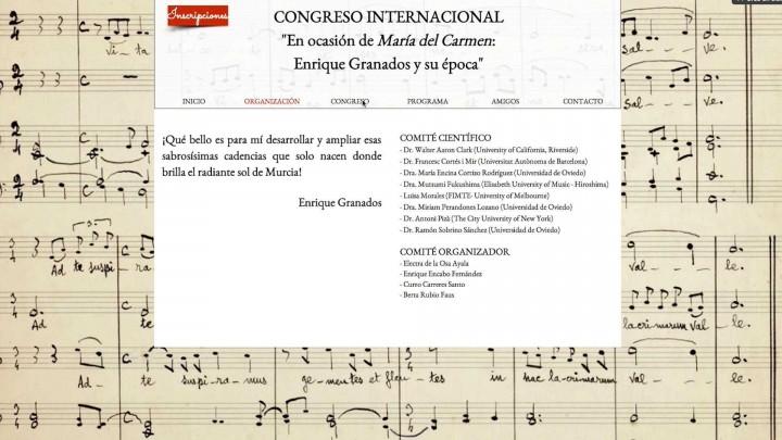 Congreso sobre Enrique Granados