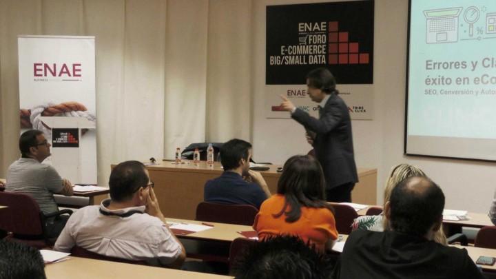 Inauguración del Foro de Ecommerce y Big Data