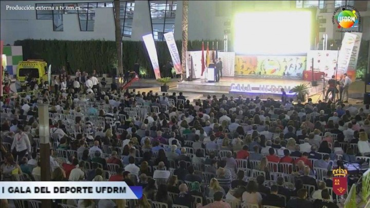 I Gala del deporte UFDRM 2016-2017