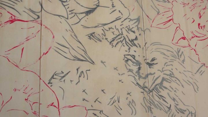 La Facultad de Bellas Artes contará con un nuevo mural en su fachada, obra de la artista Lula Goce