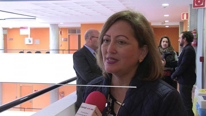 La Universidad de Murcia recibe a la embajadora de Costa Rica