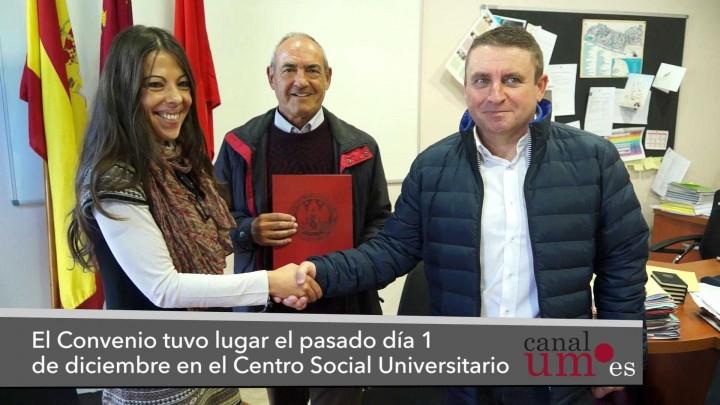 La UMU firma un convenio con la Asociación Promodeport