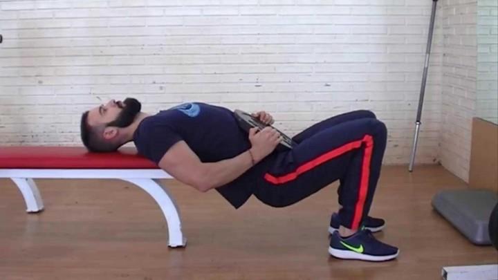 Hip thrust. Elevación de pelvis con carga