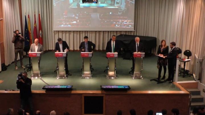 Primer debate a elecciones a Rector 2018