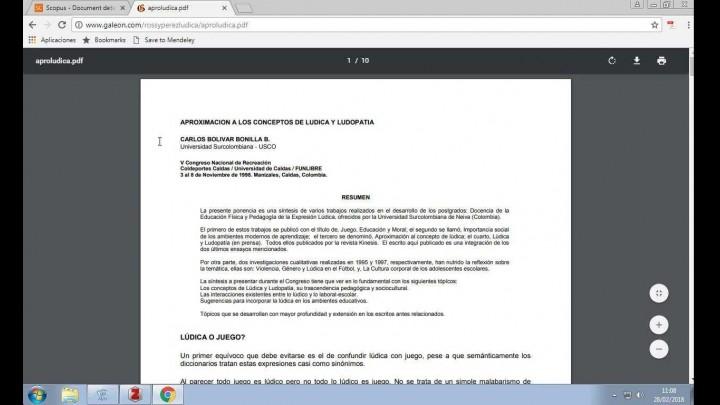 Zotero (1/2). Instalación, configuración y uso