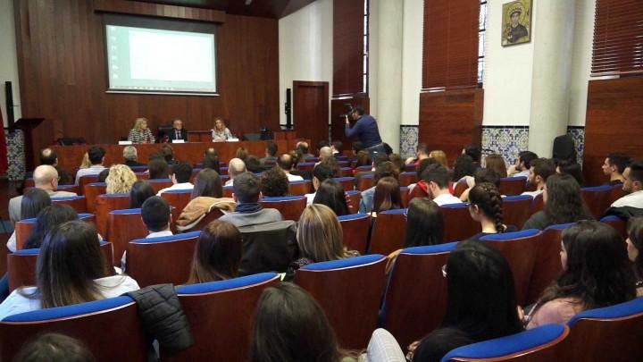 Tomás Fuertes ha dado una conferencia en la Facultad de Derecho de la UMU