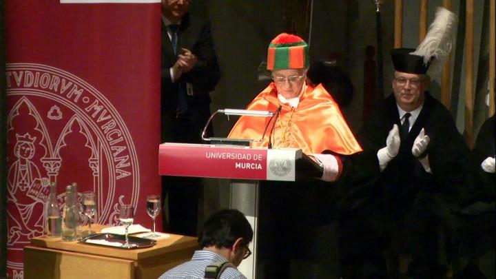 Solemne acto de investidura como Doctor Honoris Causa del Excmo. Sr. D. Tomás Fuertes Fernández