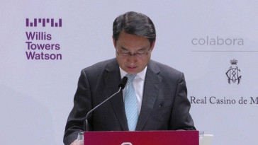 D. Lyu Fan, embajador de la República Popular China en España