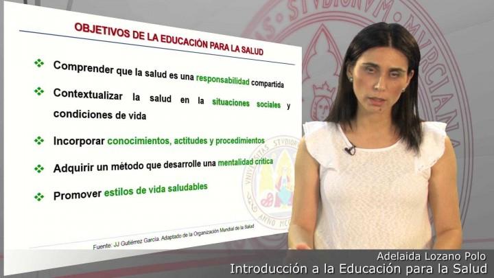 Introducción al marco teórico de la Educación para la Salud