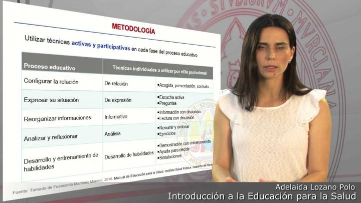 Tipos de intervenciones de Educación para la Salud