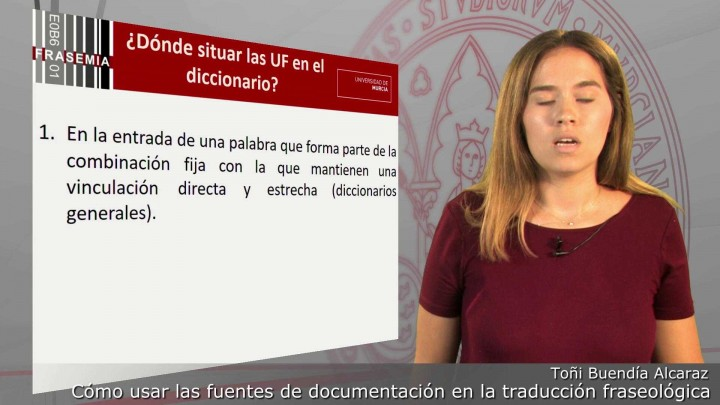 Cómo usar las fuentes de documentación en la traducción fraseológica