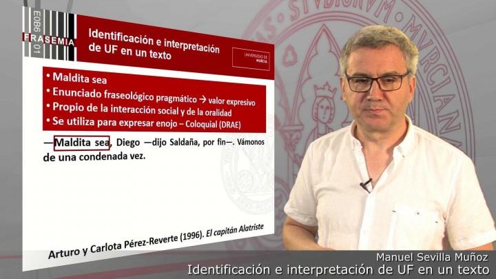 Identificación e interpretación de las unidades fraseológicas del texto original