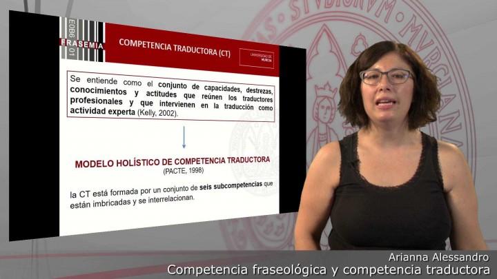 Competencia traductológica y competencia traductora