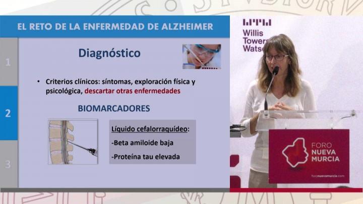 Dña. Maite Mendioroz, científica especializada en Alzheimer
