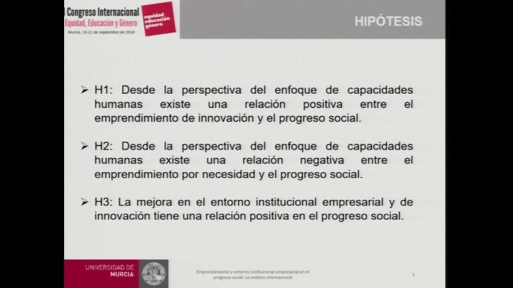 Emprendimiento y entorno institucional empresarial en el progreso social: Un análisis internacional