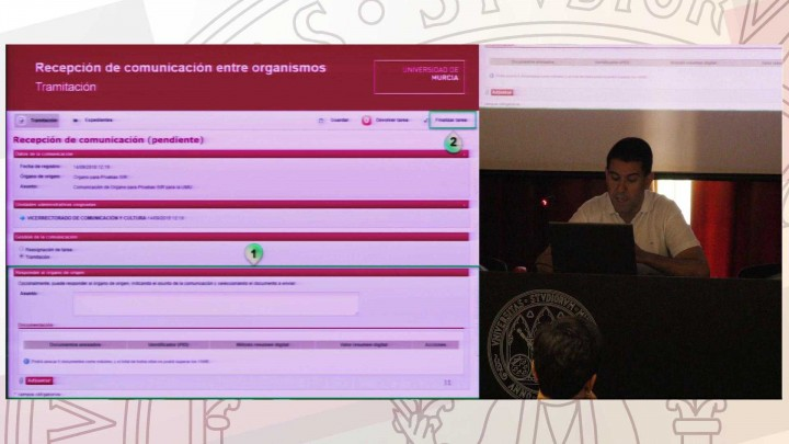 Sesión de formación - Comunicación entre organismos desde GESTA
