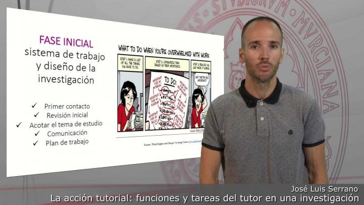 La acción tutorial: funciones y tareas del tutor en una investigación