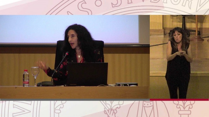 Mesa de experiencias internacionales: Alice Ribero